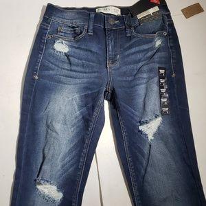 Mudd Women's Low Rise Skinny Jeans